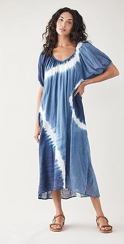 SUNDRY - Bubble Sleeve Maxi Dress