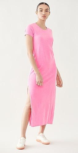SUNDRY - 短袖长连衣裙