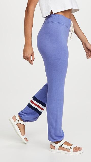 SUNDRY 三色条纹运动裤