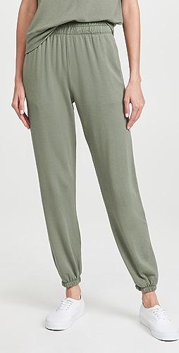 SUNDRY - Ruched Waist Sweatpants