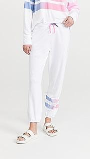 SUNDRY Ombre Stripe Sweatpants