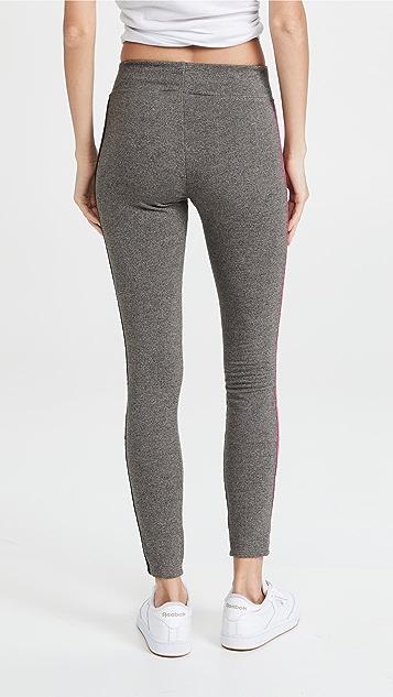 SUNDRY Side Contrast Yoga Leggings
