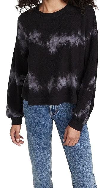 SUNDRY Sherpa Sweatshirt
