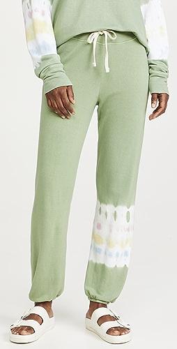 SUNDRY - 扎染条纹运动裤