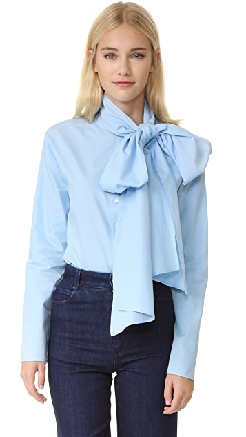 SUNO Scarf Tie Shirt