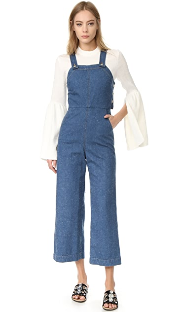 SUNO Denim Jumpsuit