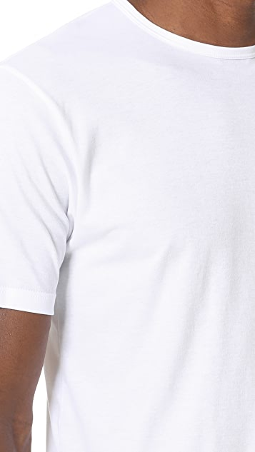 Sunspel Sea Island Cotton Crew Neck Tee