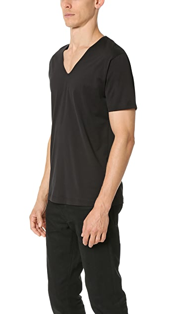 Sunspel Superfine Cotton V Neck Undershirt