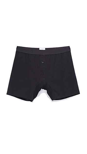 Sunspel Q82 Two Button Boxer Shorts