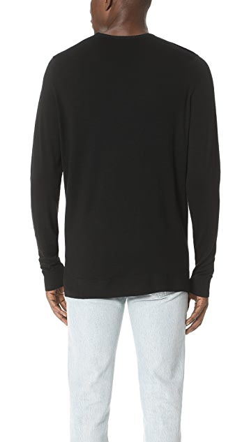 Sunspel Merino Crew Neck Sweater