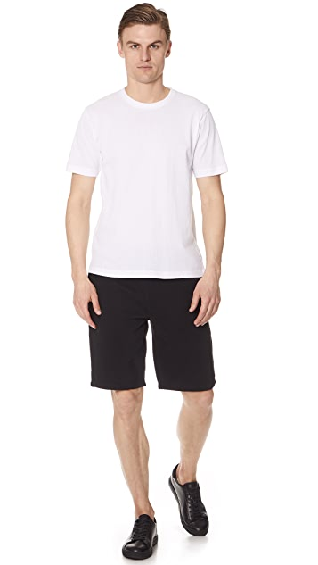 Sunspel Short Sleeve Riviera Mesh Tee