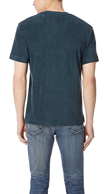 Sunspel Short Sleeve Terry Tee