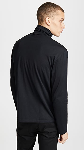 Sunspel Long Sleeve Rollneck Shirt