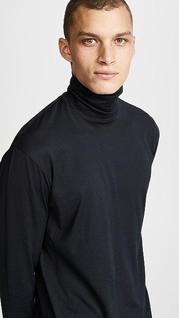 Sunspel Long Sleeve Rollneck Shirt