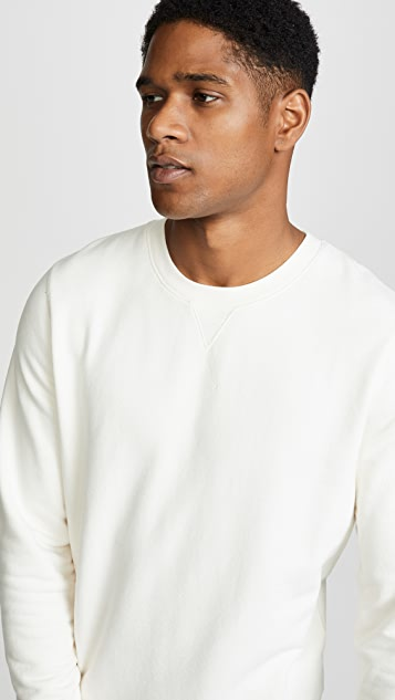 Sunspel Loopback Crewneck Sweatshirt