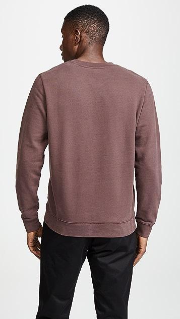 Sunspel Loopback Crew Neck Sweatshirt