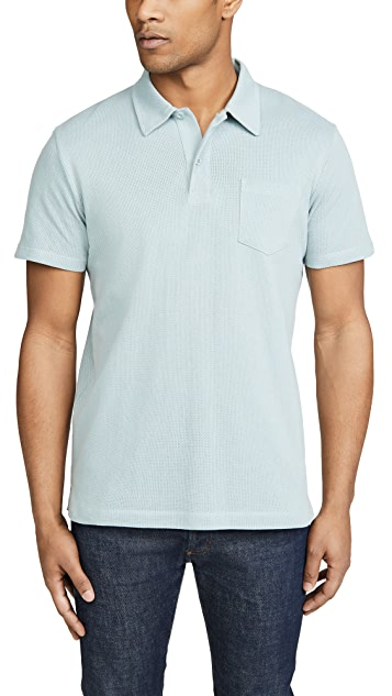 Sunspel Short Sleeve Riviera Polo