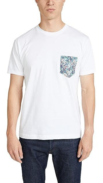 Sunspel Short Sleeve Riviera Crew Neck T-Shirt