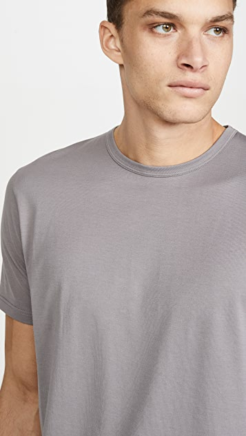 Sunspel Short Sleeve Classic Crew Neck T-Shirt