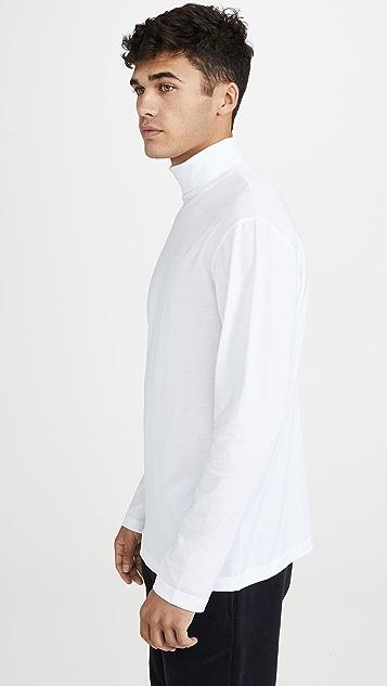 Sunspel Long Sleeve Turtleneck T-Shirt