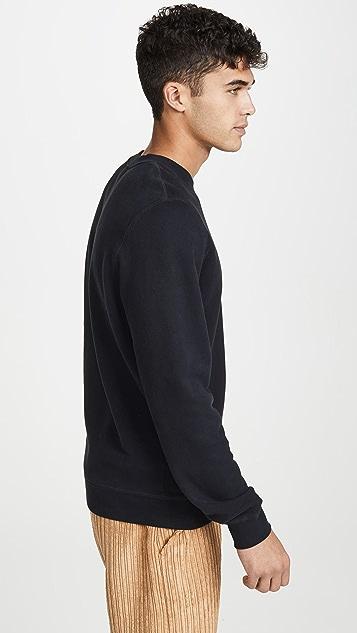 Sunspel Long Sleeve Sweatshirt