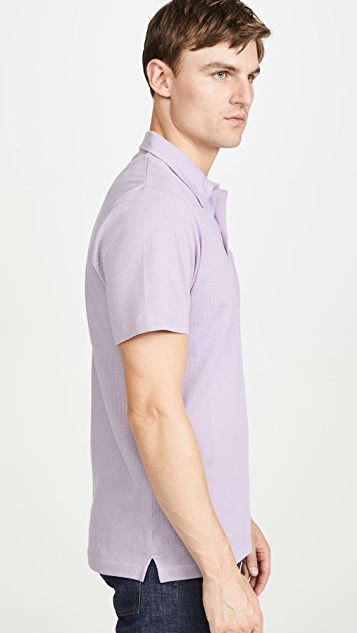 Sunspel Short Sleeve Riviera Polo Shirt
