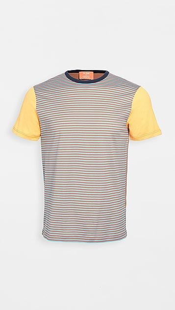 Sunspel Colorblocked John Booth T-Shirt