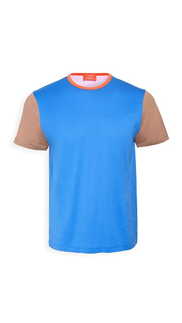 Sunspel Colorblocked John Booth T-Shirt