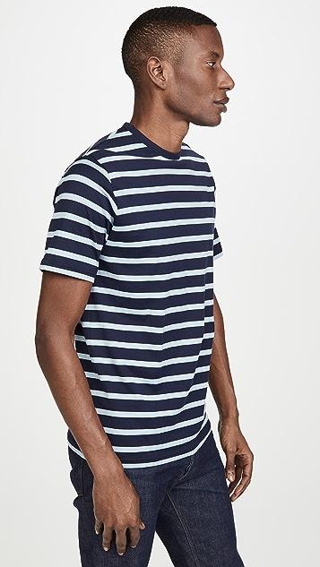 Sunspel Breton Striped T-Shirt