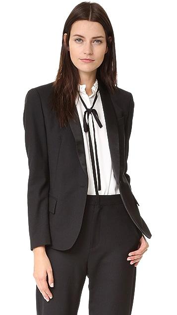 Superfine Sharp Tailored Blazer