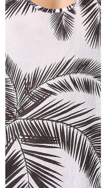 Surf Bazaar Palm Print Dress