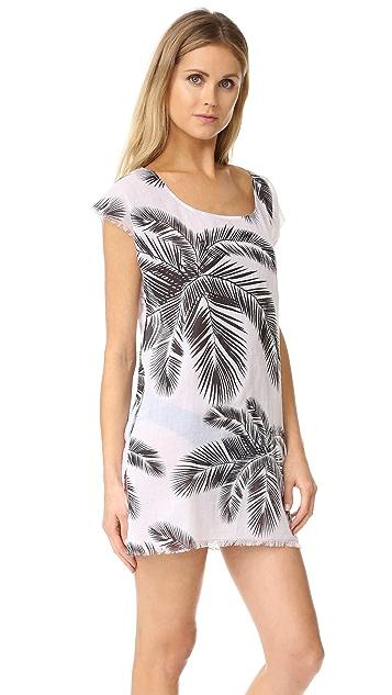 Surf Bazaar Palm Print Muscle Tunic