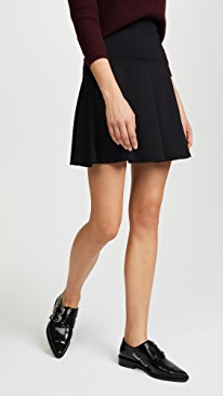 High Waisted Flare Skirt