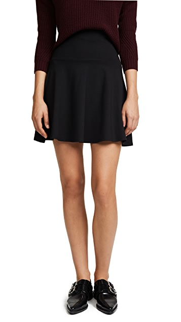 Susana Monaco High Waisted Flare Skirt