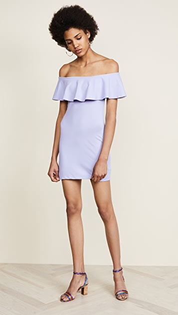 Susana Monaco Hannah Off Shoulder Dress - Sweet Lavender