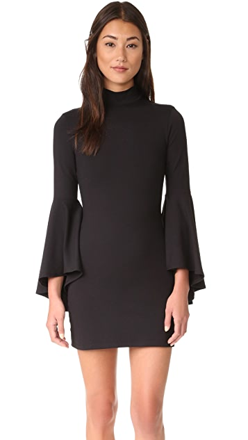 Susana Monaco Izzie Mock Neck Dress