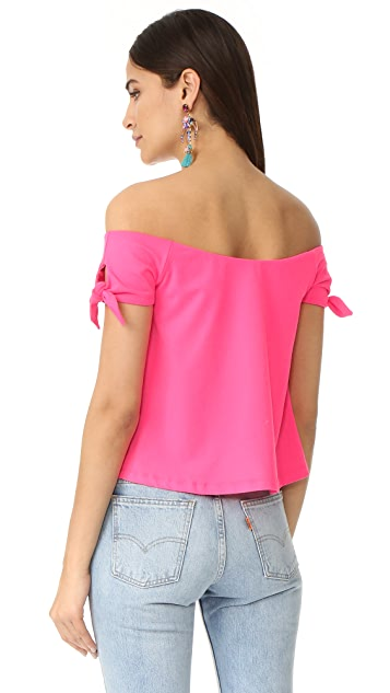 Susana Monaco Maia Off the Shoulder Top