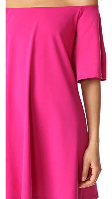Susana Monaco Rachel Off the Shoulder Dress