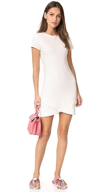 Susana Monaco Leslie Overlap Dress