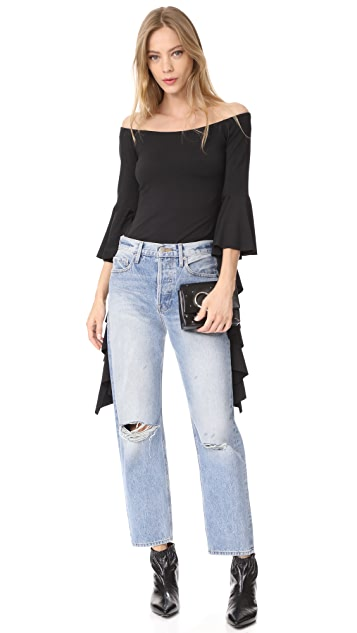Susana Monaco Delia Off Shoulder Top