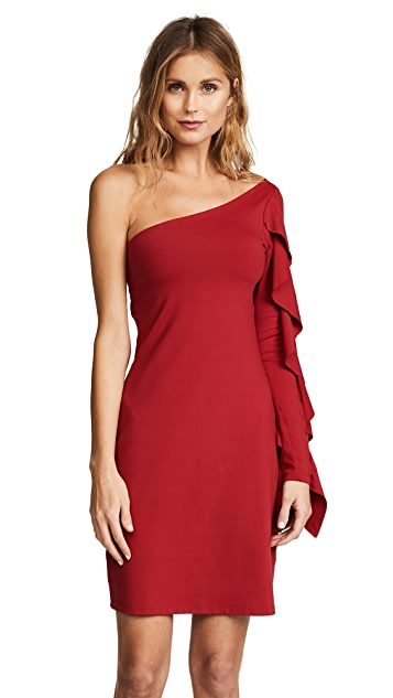 Susana Monaco Hailee One Shoulder Dress