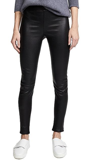 Susana Monaco Leather Leggings
