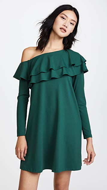Susana Monaco Jada Ruffle Dress