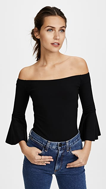 Susana Monaco Didi Off the Shoulder Top