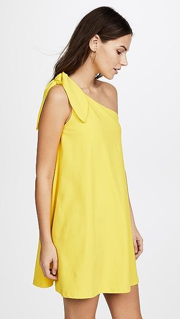Susana Monaco Kenna One Shoulder Dress