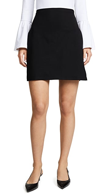 Susana Monaco Joyce Slit Mini Skirt