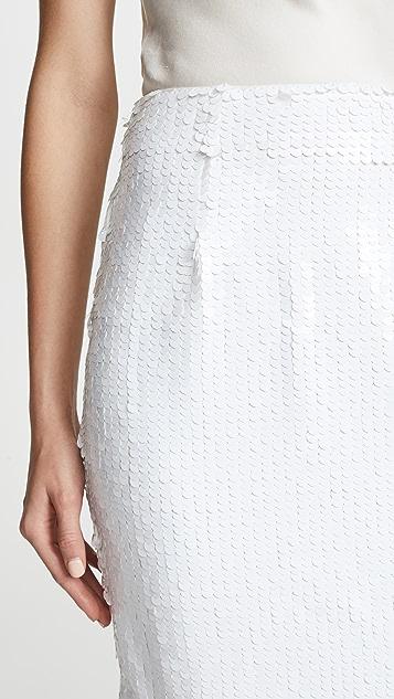 Susana Monaco Kristen Sequin Pencil Skirt