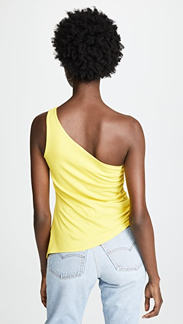 Susana Monaco Renae One Shoulder Top