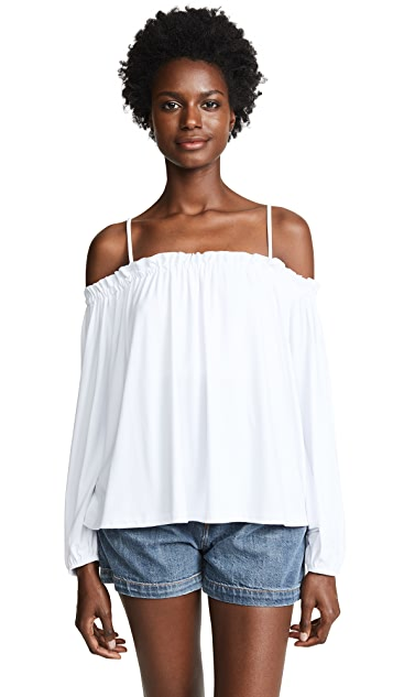 Susana Monaco Off the Shoulder Top