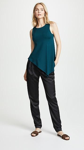 Susana Monaco Asymmetrical Handkerchief Top